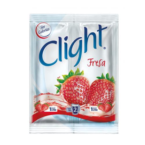 Bebida Clight Polvo Fresa - 14gr