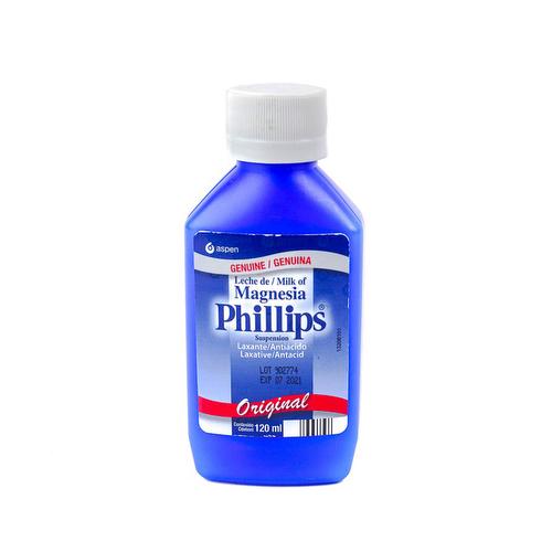Leche de Magnesia Laxante Antiácido - Phillips 120 ml