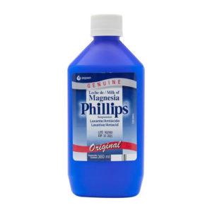 Leche de Magnesia Laxante Antiácido - Phillips 360 ml