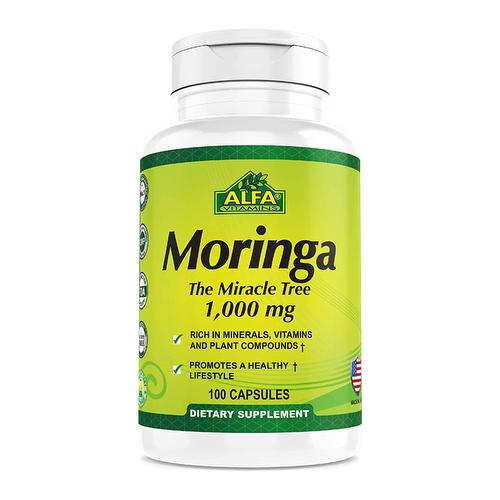 Moringa 1000 mg x 100 - Alfa