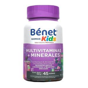 Multivitaminas + Minerales Niños - Bénet - 45 gomitas