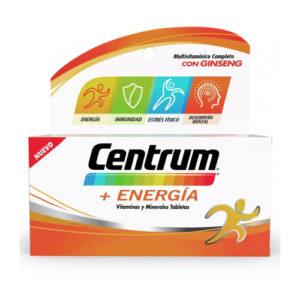 Vitaminas y Minerales Centrum + Energia - 45 unid